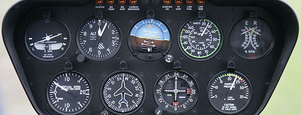 Robinson instrument panel