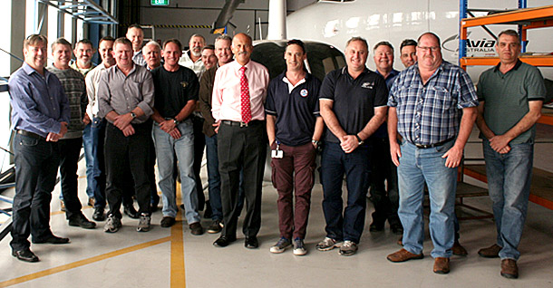 Mornington Sanford Aviation conducts Robinson R22 & R44 type maintenance training for field inspectors of the Civil Aviation Safety Authority (CASA) of Australia
