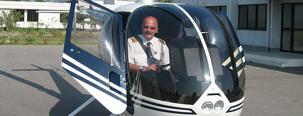 Richard in an R22