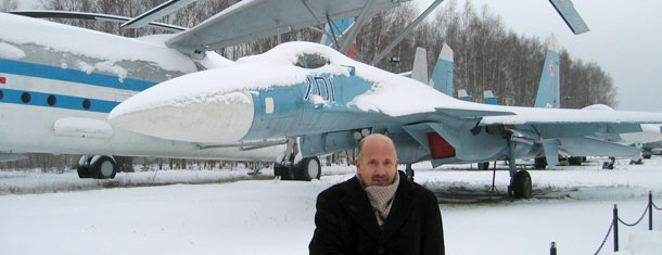 The Central Air Force Museum at Monino near Moscow