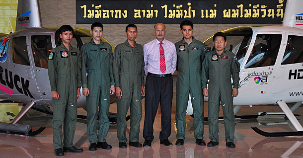 Thai Army training